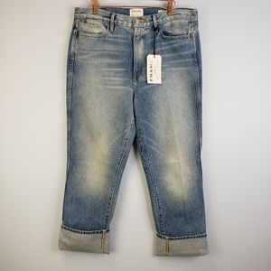 FRAME Le High Straight Re-Released Rigid Jeans